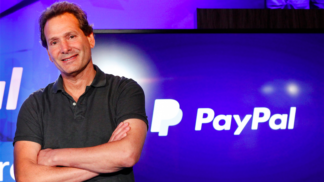 Jew CEO of PayPal Admits Censorship Conspiracy With Jew ...